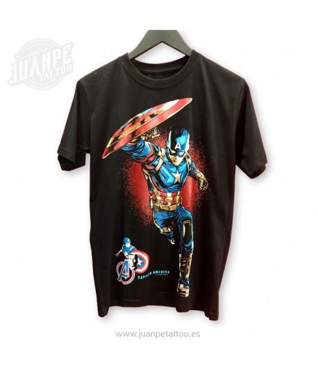 Camiseta Capitan America Marvel