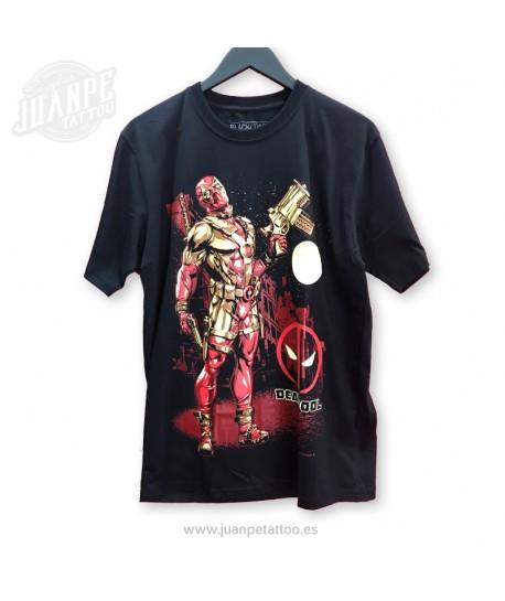 Camiseta Dead Pool Marvel