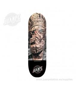 Tabla Skate Tatuaje Venecia Juanpetattoo