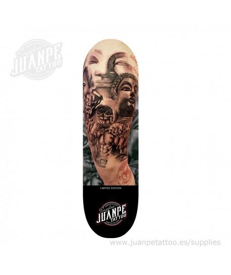 Tabla Skate Tatuaje Full Juanpetattoo