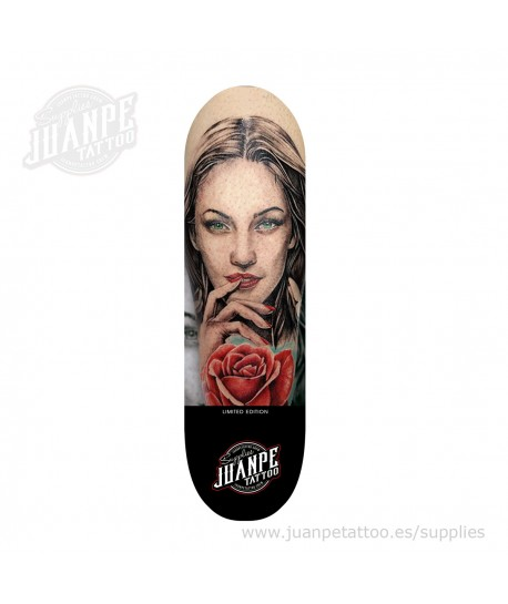 Tabla Skate Tatuaje Megan Fox Juanpetattoo