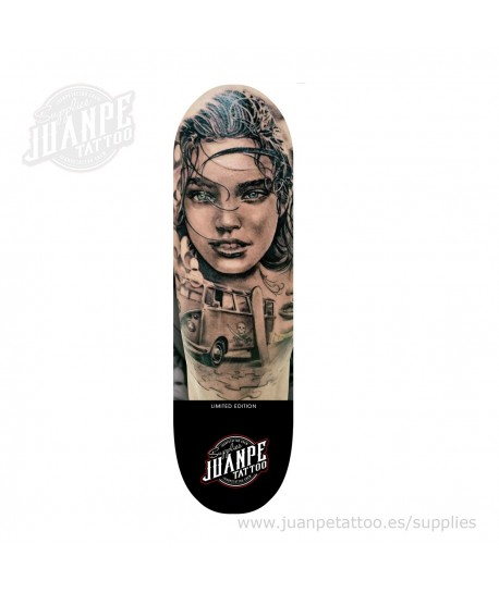 Tabla Skate Tatuaje Juanpetattoo