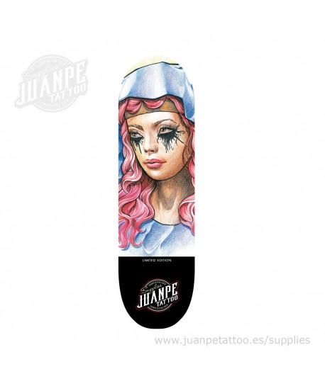 Tabla Skate Tatuaje Catrina 3 Juanpetattoo
