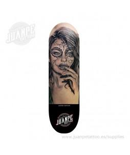 Tabla Skate Tatuaje Catrina 4 Juanpetattoo