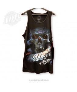 Camiseta De Tirantes Calavera (Sullen)