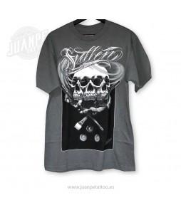 Camiseta Calavera manos (Sullen)