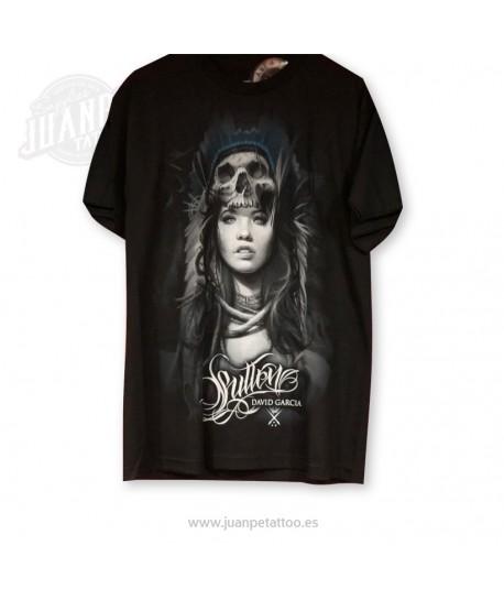 Camiseta Chica Calavera  (Sullen)