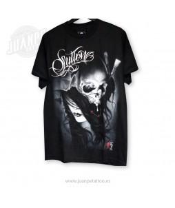 Camiseta Rostro Calavera (Sullen)