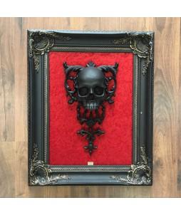 Cuadro Skullture – Calavera Negra