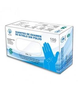 Guantes De Nitrilo Azul (100 unid.)