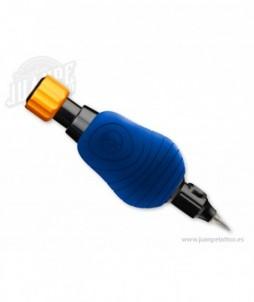 10 fundas de goma desechables para grips cheyenne - hawkflow - azul