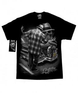 Camiseta de la perfección del esqueleto
