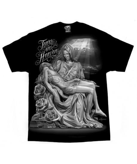 Camiseta de lágrimas en el cielo