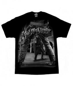 Camiseta de del oeste el último hombre en pie