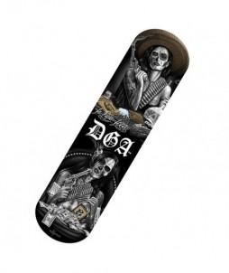 Tabla de skate con diseño de vida loca