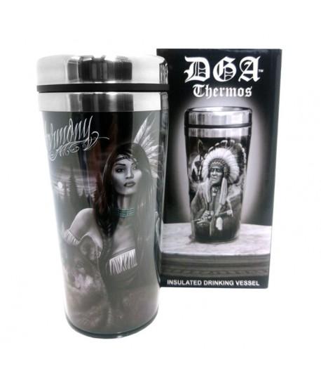 Thermo para café o té con varios diseños vision quest y harmony