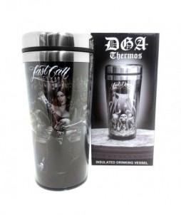 Thermo para café o té con varios diseños last dance y last call