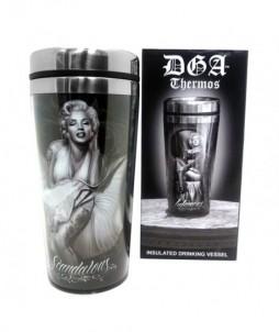 Thermo para café o té con varios diseños infamous y scandalous
