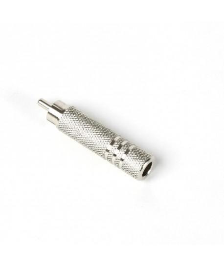 Adaptador rca s/c para jack 6.3mm